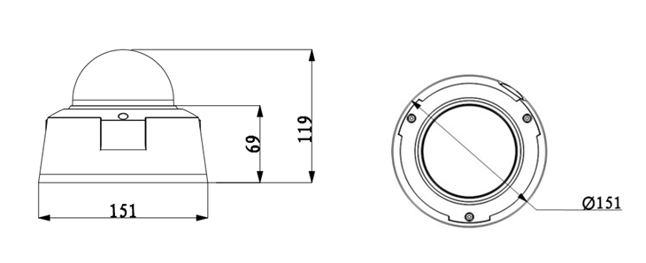 Dome Smart Camera Diagram