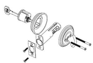 Diagram of Yale Ovalette Single Cylinder