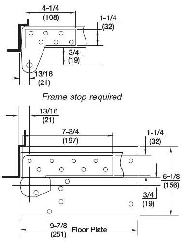 Rixson Model 27 Threshold