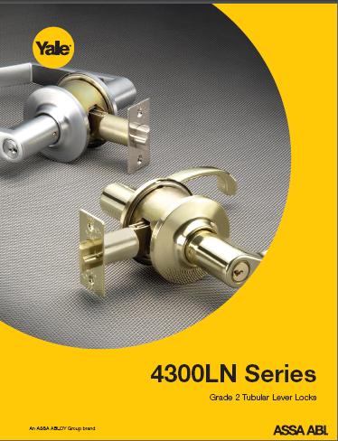 4300LN Series Light/Medium Duty Lever Locks