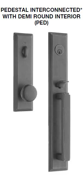 Pedestal Entry Lock