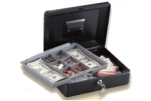 SentrySafe Cash Box - 12 In
