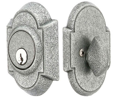 Emtek Wrought Steel No 1 Single Cylinder Deadbolt