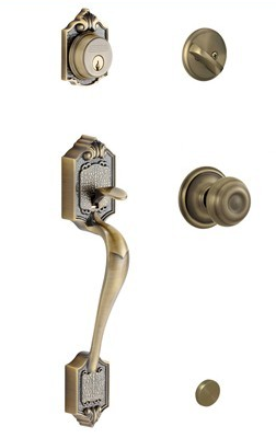 Schlage Pathenon Handleset with Georgia Knob