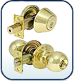 Residential Deadbolt and Door Lock Combo Sets