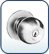 Commercial Exterior Door Knobs-Grd 2