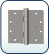 "4 to 4"" , Five Knuckle Full Mortise Hinge"