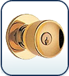 Commercial Interior Door Knobs-Grd 2