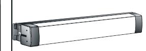 Adams Rite 3700 Rim Exit Device for Wood or Hollow Steel Doors