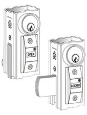 Adams Rite Exit Indicator and Sign - 4089-00-130