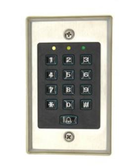 Digital Access Control Keypad with LED-backlit