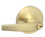 Schlage ND-Series Grade 1 - Athens Leverset - Single Dummy