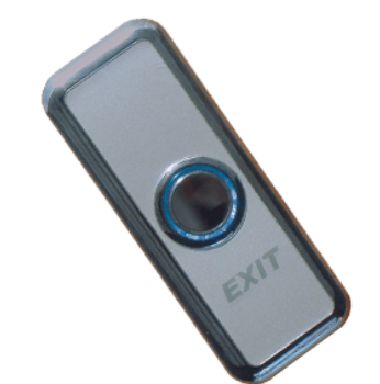 Weatherproof Push To Exit Button with Bi-Color LED