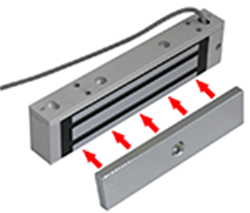 Magnetic Lock - 600 lbs