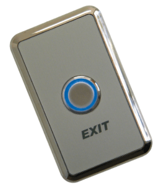 Weatherproof Push To Exit Wall Button with Bi-Color LED