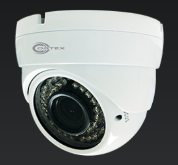 HYBRID AHD & Analog-Digital 1480x1080P Outdoor IR Turrent Dome CCTV Camera