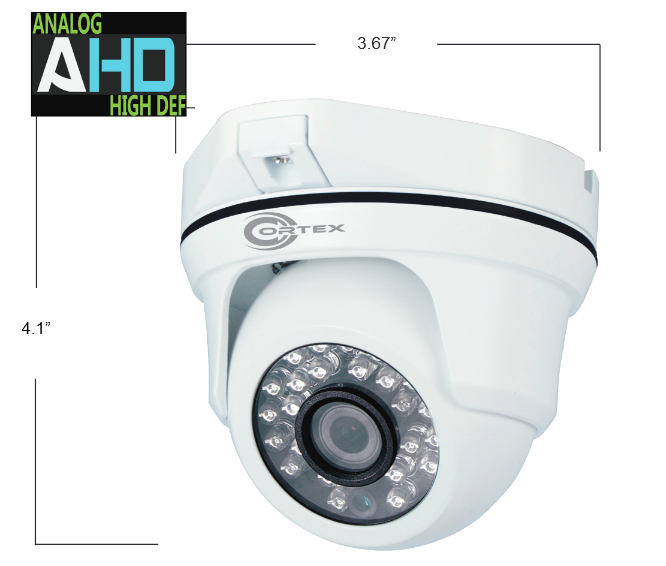 HYBRID A-HD & ANALOG OUTDOOR IR DOME CAMERA