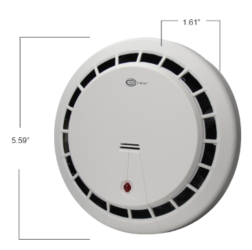 Fake Smoke Alarm with Day-Night Hidden Camera