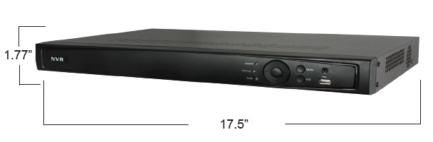 16 Channel and 8PoE Newtork Video Recorder