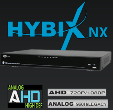 8 Channel - 3 Way Hybrid Standalone DVR - AHD 1080 / AHD 720 / 960H / ANALOG