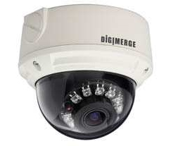 Digimerge DNV14TL2 - 2.1MP HD Varifocal IR Vandal IP Dome Camera