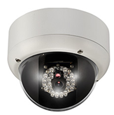 Vandal Proof IR IP Dome Camera - 540TVL IP66