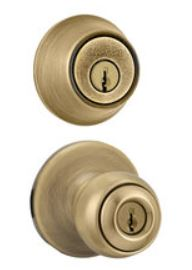 Kwikset Smartkey Combo Tylo Entry With Single Cylinder Deadbolt