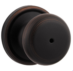 Kwikset Hancock Privacy Knobset from the Signature Collection