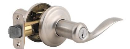 Kwikset 740TNL SMARTKEY Tustin Entry Door Leverset from the Signature Series