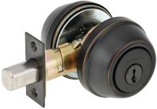 Kwikset Double Cylinder Deadbolt with Adjustable Backset