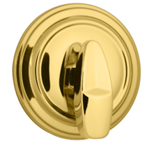 Kwikset Polished Brass Single Cylinder Deadbolt - Grade 1