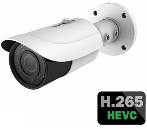 IP Dome Camera - H.265 Compression