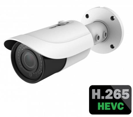 IP Bullet Camera - H.265 Compression