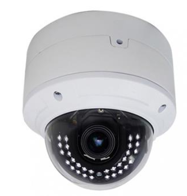 Indoor IP Dome Camera - 2.8 ~ 12 mm Motorized Lens