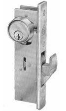 Adams Rite Mortise Cylinder Hookbolt Less Faceplate