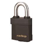 Medeco KeyMark Indoor/Outdoor Padlock 7/16in Shackle, 7 Pin, SFIC Cylinder