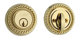 Yale Medallion Single Cylinder Deadbolt