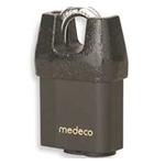 Medeco Shrouded Padlock-5/16in Shackle - Medeco3 Cylinder