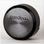 Medeco 52-9 Series Hockey Puck Padlock - 5 Pin Medeco3 High Security Cylinder