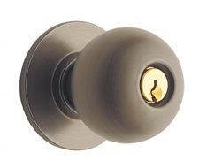 Schlage Orbit Door Knobset - Grade 2 - Single Dummy