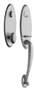 Design Elements - Ovation Single Cyl Entry Handleset