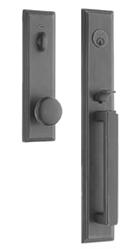 Design Elements - Pedestal Single Cyl Entry Handleset