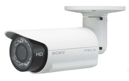 Sony SNCCH160 - 720p IP HD Bullet Camera with IR Illuminator