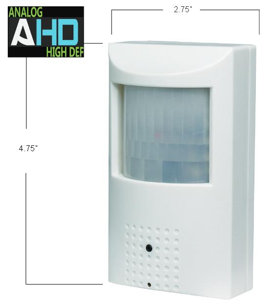 Hybrid Covert Indoor Motion Detector CCTV Camera
