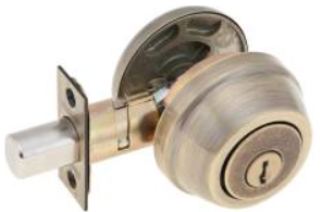 KWIKSET 780 Single Cylinder Deadbolt - Grade 2