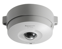 Panasonic - WV-SW458 - 360� Vandal Resistant IP Dome PTV Camera