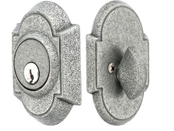 Emtek Wrought Steel No 1 Style Single Cylinder Deadbolt Lock
