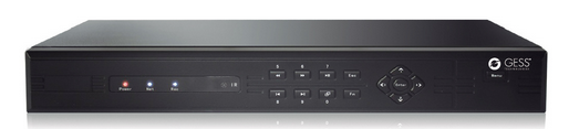 16 Channel TVI DVR - 16ch 960H, 16 ch 720P or 1080P
