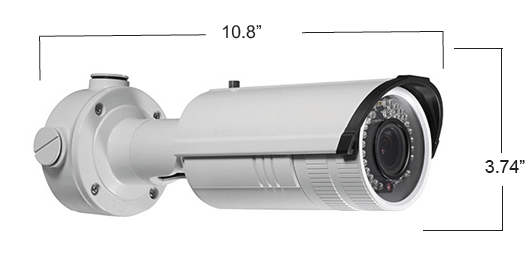 4MP Outdoor IP Bullet with Motorized Zoom