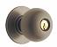 Schlage Orbit Door Knobset - Grade 2 - Storeroom